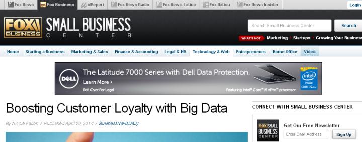Fox Small Business Center 04-30-2014 Customer loyalty