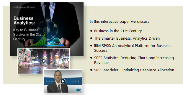IBM WP-Biz Analytics 2014